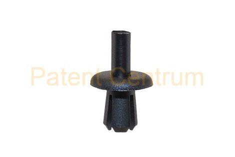 01-022   CITROEN, PEUGEOT FIAT PANDA lökhárító patent.  Furat: 6 mm.  Gyári cikkszám: CITR,PEUG:697346,  FIAT:51754057