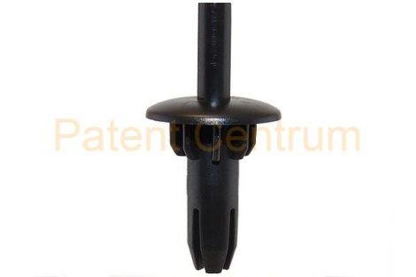 01-027   AUDI A3 első lökhárító patent.  Furat: 8/13 mm. Gyári cikkszám: 8L0807300