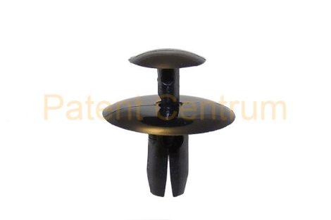 02-007  C4,  PEUGEOT 206, 306, 308 dobbetét, lökhárító, géptető szigetelés, tűzfalborítás patent,  Furat: 6,5 mm,   Gyári cikkszám: 699783