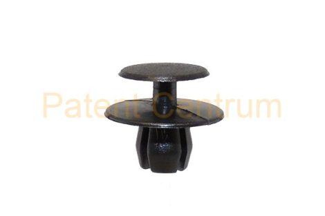 02-023   PEUGEOT 206-306,  MERCEDES hűtődíszrács patent. Furat: 8,5 mm.  Gyári cikkszám: PEUG:781324, MERCEDES:1239900292