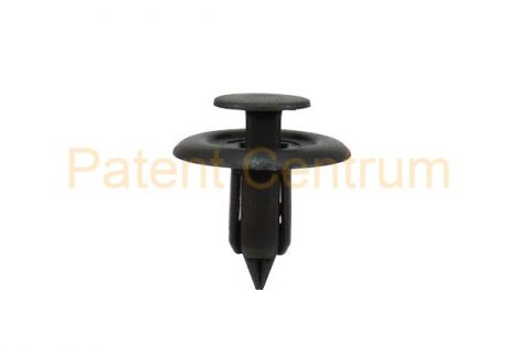 02-029   MAZDA csomagtérburkolat patent. Furat: 6 mm.  Szín: szürke