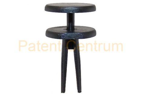 02-031  JEEP CHEROKEE  hátsó lökhárító, alsó patent.  Furat: 6,5-7 mm.  Gyári cikkszám: 6503106
