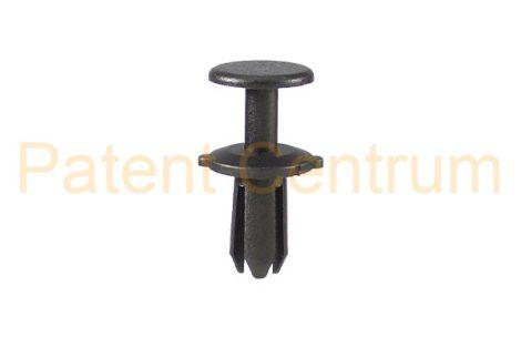 02-040   VOLKSWAGEN, SEAT, lökhárító, hűtődíszrács patent.   Furat: 5 mm.  Gyári cikkszám: N-905-369-01