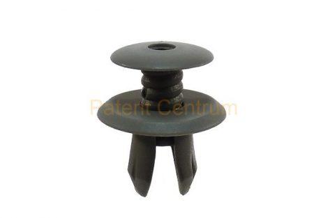 02-041   VOLKSWAGEN  T4 belsőburkolat, raktér rögzítő patent.  Furat: 9 mm.  Szín: sötét szürke.