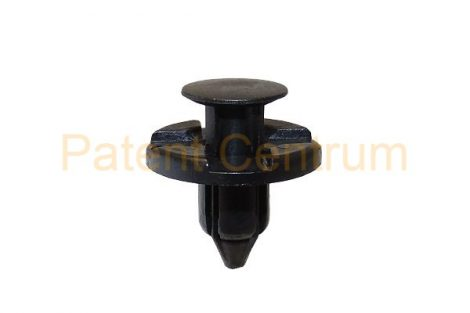 03-029  NISSAN, MITSUBISHI, dobbetét patent, lökhárító patent, Hűtődíszrács patent Furat: 8 mm Gyári cikkszám: 6385401AOO, MR328954, 0155309321