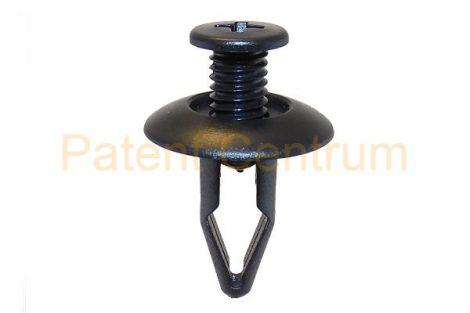 03-055   NISSAN,MITSHUBISHI,  MAZDA dobbetét patent, lökhárító patent Furat: 8 mm,  Gyári cikkszám: 6385401A00, MNA01-56145, MB547806