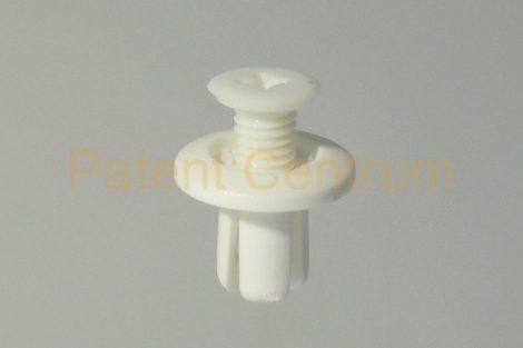03-083  Belső burkolat patent, Furat: 8-8,5mm. FEHÉR
