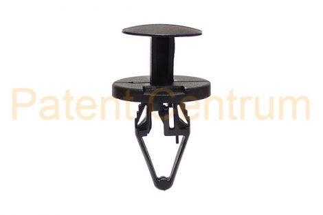 03-124   OPEL  dobbetét, lökhárító alsó patent, furat: 8 mm. Gyári cikkszám: 11571109