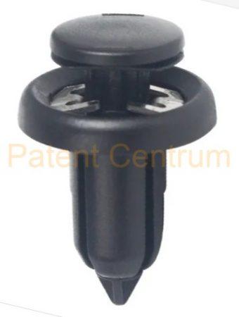 03-170  Honda lökhárító, alsó motorburkolat patent.  Gyári cikkszám: 91506-S9A-003
