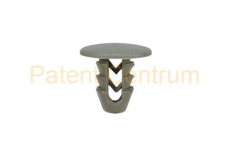 05-012   FIAT belsőburkolat patent,  Furat: 7 mm,  Szín: szürke