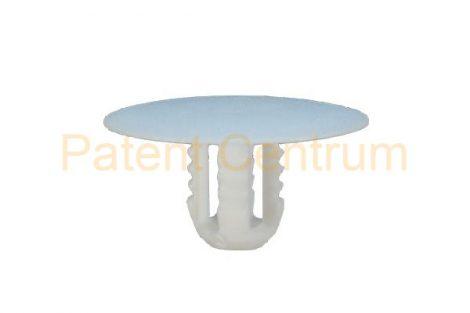 05-051   FORD belsőburkolat rögzítő patent,  Furat: 8 mm,  Szín: fehér,  Gyári cikkszám: W700671