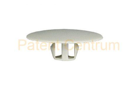 05-054   Mitsubishi  tetőkárpit patent,  Furat: 8-8,5 mm,  Szín: világos szürke,  Gyári cikkszám: MB020923