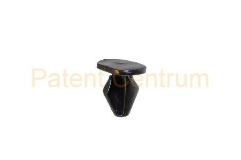 06-008  RENAULT CLIO III, TRAFIC II gumiszegély rögzítő patent.  Furat: 5,4-5,8 mm Hossz: 9 mm Fej átmérő: 7*12 mm.   Gyári cikkszám: 9025W9