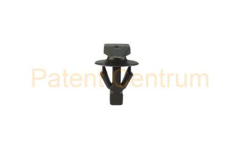 06-010   HONDA, SUZUKI, MITSUBISHI ajtó gumiszegély rögzítő patent.  Furat: 5 mm Hossz: 8 mm Fej átmérő: 5*15 mm. Gyári cikkszám: 72311-S5S-003, MU481027, 5902A041