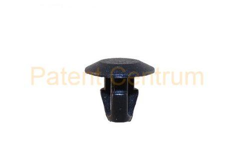 06-018     FIAT, LANCIA, ALFA ajtó és géptető gumiszegély rögzítő patent Furat: 7 mm Hossz: 10,8 mm Fej átmérő: 14 mm Szín: fekete. Gyári cikkszám: FIAT: 7677865