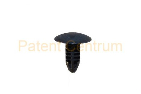 06-020    TOYOTA, SUZUKI, Japan modellek   géptető gumiszegély rögzítő patent..  Furat: 5 mm Hossz: 11 mm Fej átmérő: 12 mm Szín: fekete. Gyári cikkszám: 09409-10304, 90467-05045-22