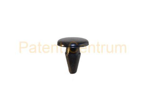 06-023   MAZDA ajtó és géptető gumiszegély rögzítő patent.  Furat: 4 mm, Hossz: 10 mm, Fej átmérő: 10 mm.  Szín: fekete.  Gyári cikkszám: 992640426