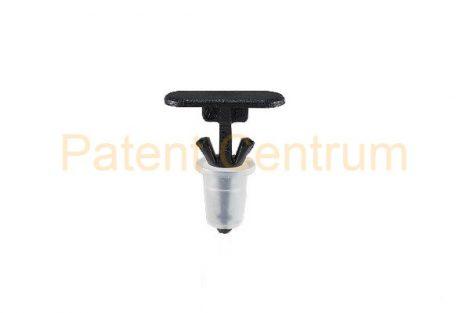 06-024  OPEL CORSA 2007, VOLKSWAGEN  GOLF III, SHARAN, TRANSPORTER, VENTO ajtó gumiszegély rögzítő patent. Furat: 5,5 mm.  Gyári cikkszám: 157979, 90579619