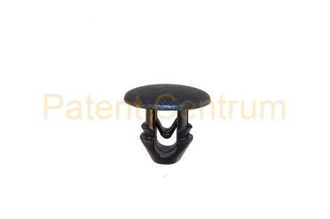 06-038   FIAT LANCIA, DOBLO, DUCATO, CROMA, TIPO, UNO, géptető gumiszegély rögzítő patent Furat: 6-6,5 mm Hossz: 9,5 mm Fej átmérő: 12 mm.   Gyári cikkszám: 7537973