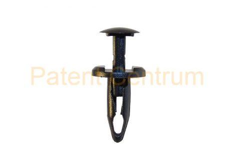 06-053    FIAT, DODGE, JEEP gumiszegély rögzítő patent.  Furat: 6,5 mm Hossz: 19 mm Fej átmérő: 15 mm. Gyári cikkszám: K06509103AA