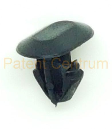 06-075  Renault Captur,  Megane II - III, Volvo gumiszegély rögzítő patent. Gyári cikkszám 8 201 033 717