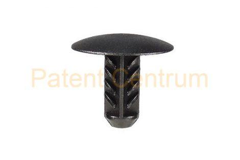 07-028   RENAULT MEGANE, CLIO II, III. LAGUNA géptető szigetelés rögzítő patent.  Furat: 6,5 mm.  Gyári cikkszám: 77030774444
