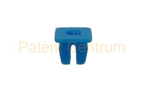 08-022  ALFA, FIAT, LANCIA,  IVECO, négyszög műanyag anya.  Furat: 8*8 mm,   Gyári cikkszám: FIAT: 4264257, IVECO: 14215282