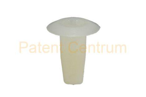 08-030    VOLKSWAGEN, AUDI 80-90' Rendszámtábla tartó patent.  Furat: 8*8 mm,  Gyári cikkszám: 321813988A