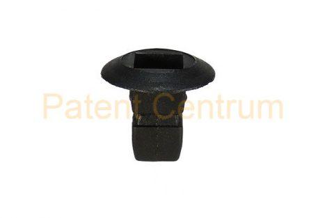 08-036   AUDI, VOLKSWAGEN,  kerékjárati dobbetét rögzítő patent,  négyszög műanyag anya.   Furat: 7,5*7,5 mm,   Gyári cikkszám: N90833801