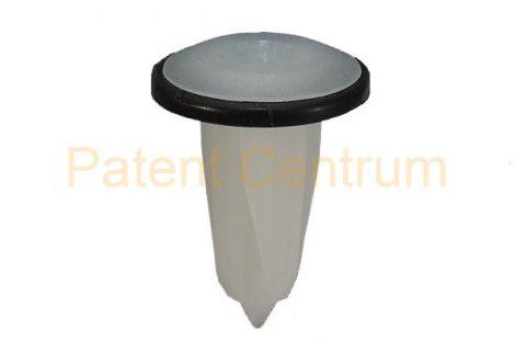08-041   ALFA, FIAT, LANCIA,  ajtókárpit, küszöb borítás patent, négyszög műanyag anya. Furat: 8*8 mm,   Gyári cikkszám: 46408953