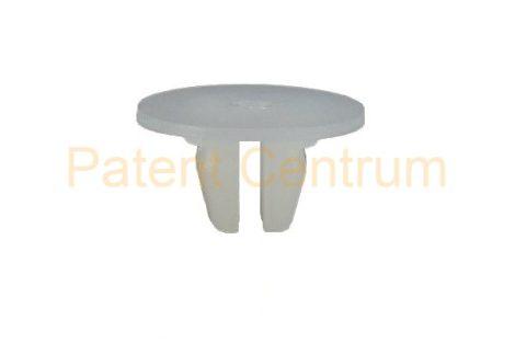 08-050    TOYOTA COROLLA sárfogó gumi rögzítő patent,  négyszög műanyag anya.  Furat: 9*9/12*12 mm,  Gyári cikkszám: 9018906226