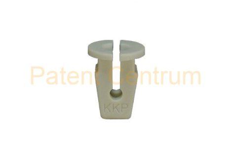 08-077    VOLKSWAGEN  lökhárító, rendszámtábla, ajtók, hűtődíszrács patent.  Csap: 7,5*7 mm  Gyári cikkszám: 165827592