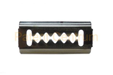 09-028   HYUNDAI  lökhárító, hűtődíszrács fém patent. Méret: 13,3*29,6 mm.  Gyári cikkszám: 86593-24000