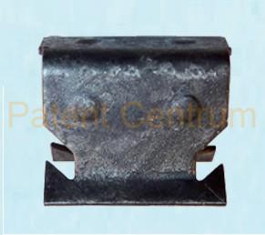 09-037  Ford Focus MK2 fém patent. Gyári cikkszám: 3707221A,  1329640