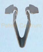 09-038  Volkswagen, Seat Skoda fém kárpit patent.  Gyári cikkszám:  3B9867289