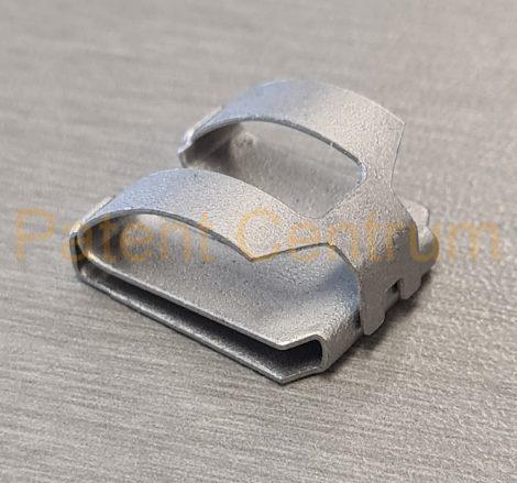 09-044  Mercedes W124, W140 lökhárító krómdíszléc patent.   Gyári cikkszám: 1249889078