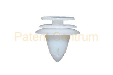 10-402    CHRYSLER VOYAGER,  2001-től ajtókárpit patent,  Furat: 9,5 mm Szín: fehér,   Gyári cikkszám: 6505292AA