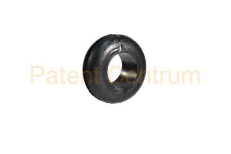 11-021   Gumiátvezető  Furat: 12,5 mm Vezeték: 8 mm Lemeza. vast.: 1,8 mm
