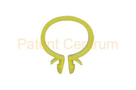 14-004   Vezetékrögzítő, omega patent. Renault 7703079131, Peugeot: 7903079018, Citroën:698791, Mercedes: A0009955844, ALFA, FIAT, LANCIA, IVECO:14570280