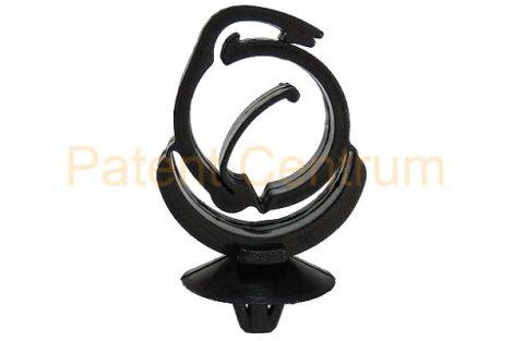 14-008    PEUGEOT, RENAULT vezetékrögzítő patent.  Furat: 6,5 mm.  Gyári cikkszám: PEUG:699243,  REN:7703079338.