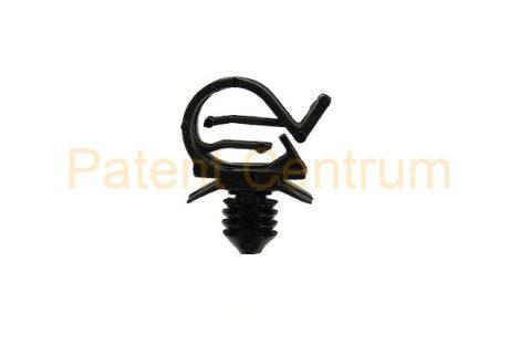 14-015   PEUGEOT, CITROEN vezetékrögzítő patent.  Furat: 6,5 mm. Gyári cikkszám: 6995H7