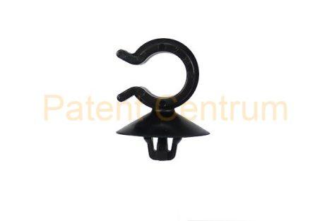 14-017   PEUGEOT vezetékrögzítő patent.  Furat: 6,5 mm. Gyári cikkszám: 9759921580