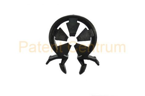 14-026   Omega vezetékrögzítő patent.  Furat: 6,5 mm. Gyári cikkszám: Renault 7703079235