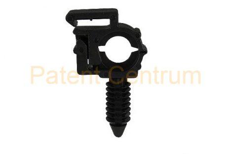 14-032  Vezetékrögzítő patent gégecsőhöz, GM, USA.  Furat: 6,5 mm. Gyári cikkszám: GM 12040984