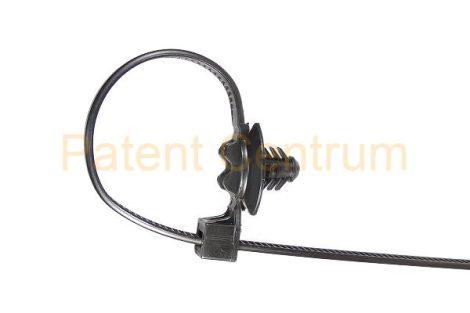 15-008    FIAT  kábelkötegelő.  Furat: 6,5 mm. Gyári cikkszám: 51708845