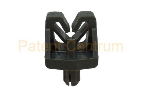 17-006   RENAULT Master, Megane.  Fékcsőrögzítő patent I-es.  Furat: 6,7 mm.  Gyári cikkszám: 7703079296