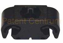 17-033  Volkswagen, Audi fékcső rögzítő.  Gyári cikkszám: 811611797.