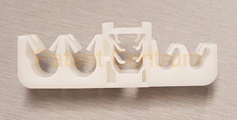 17-037  Toyota Alphard fékcső, üzemanyagcső rögzítő patent.  Gyári cikkszám: 3506J10-0016