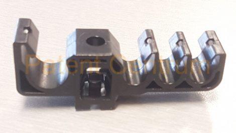17-041  Toyota Hiace fékcső, üzemanyagcső rögzítő patent.  Gyári cikkszám: 90949-01D14