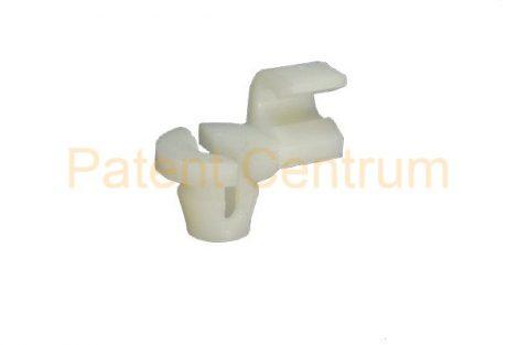 19-022   RENAULT CLIO, R19, SAFRANCE, LAGUNA, MEGANE, zárrudazat rögzítő patent.  Furat: 6 mm.  Gyári cikkszám: 7701035664
